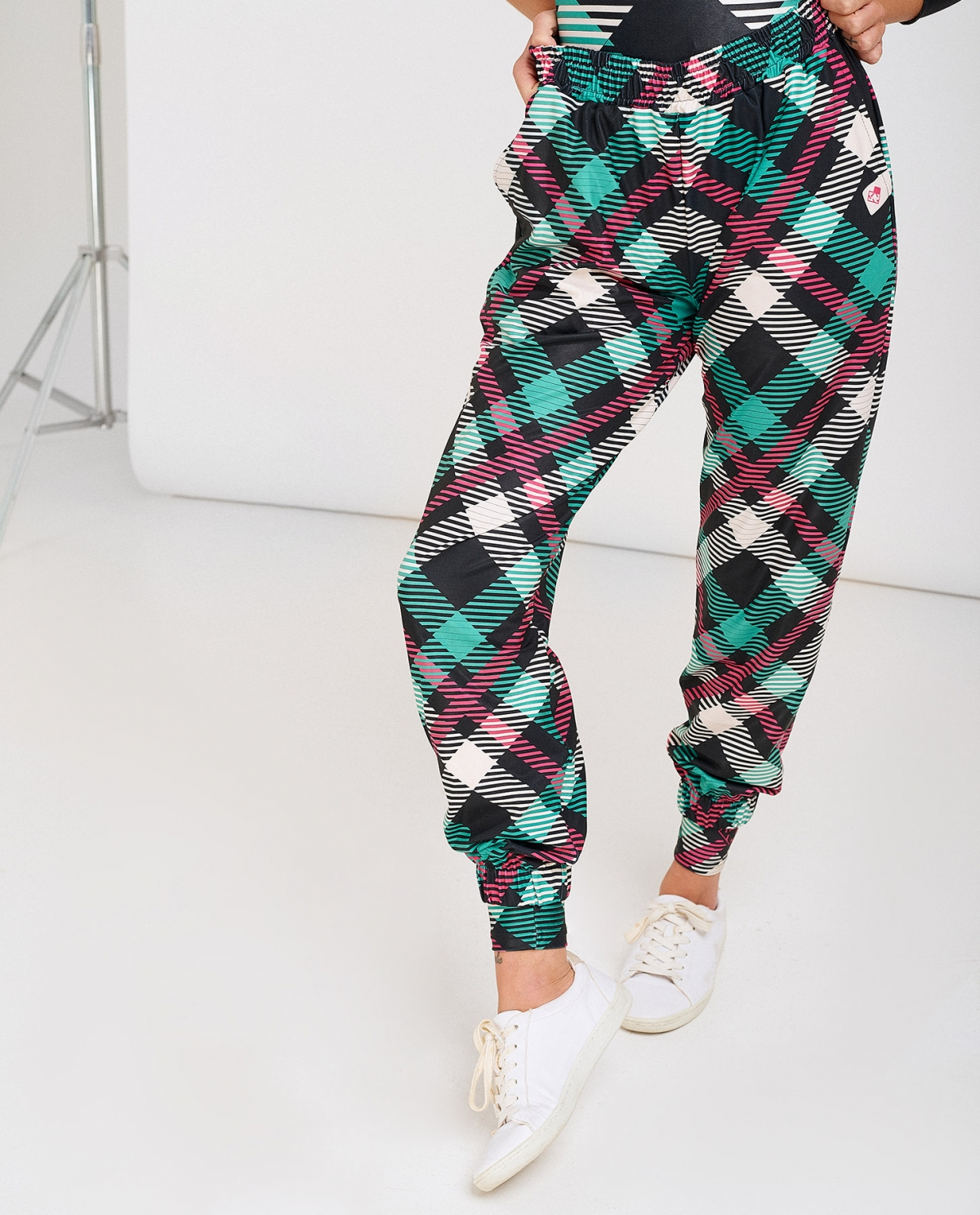 Plaid Trackpants