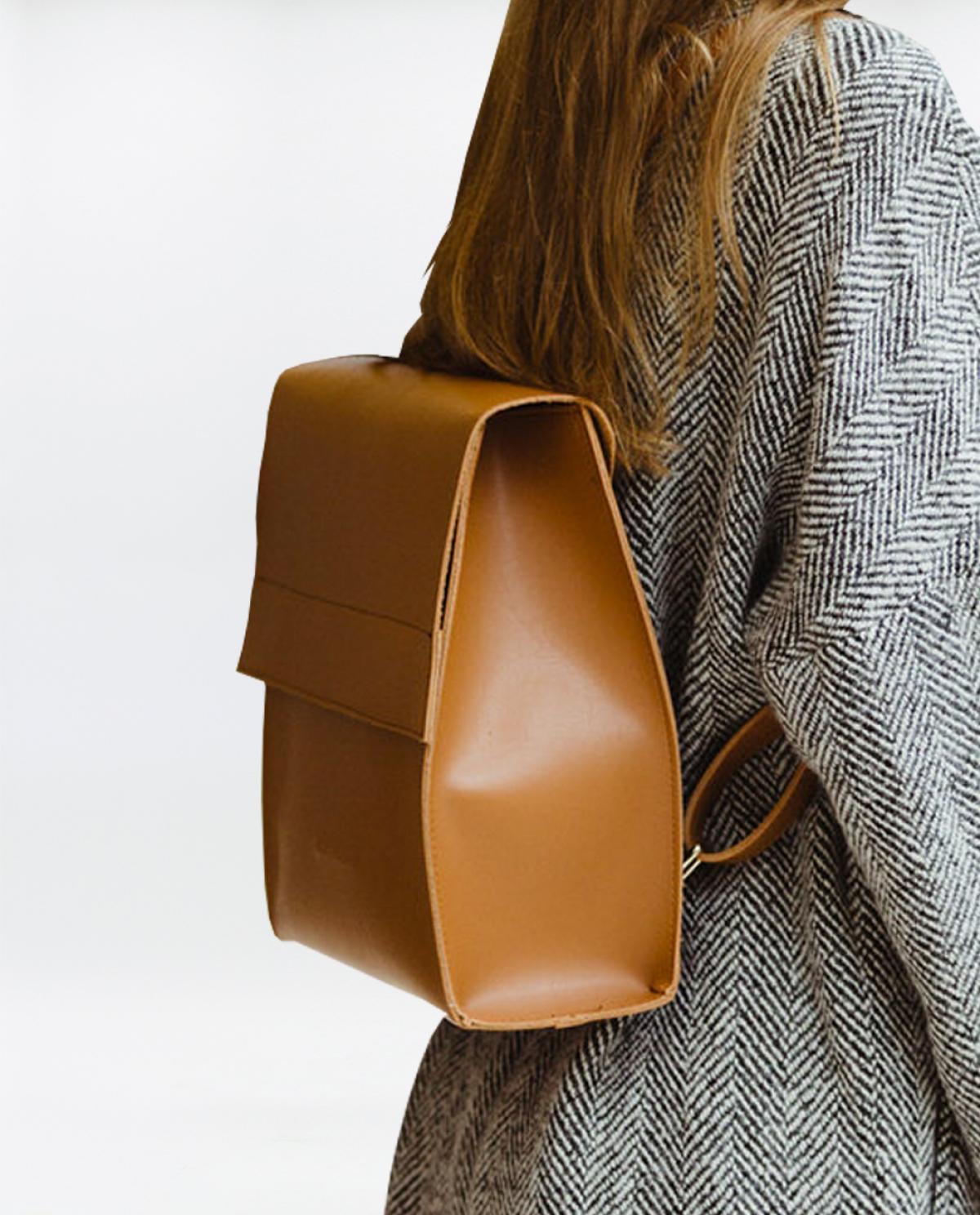 Purity Cognac Backpack