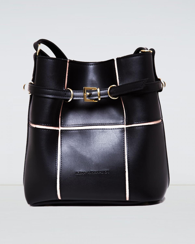 Puzzle Bag Black Large
