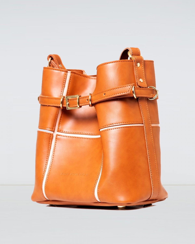 Puzzle Bag Cognac Large