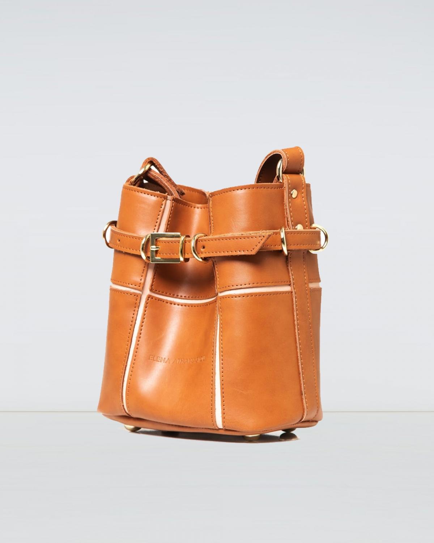 Puzzle Bag Cognac Small
