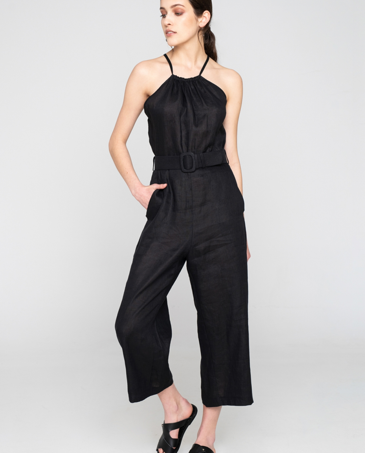 RABAT Black Playsuit