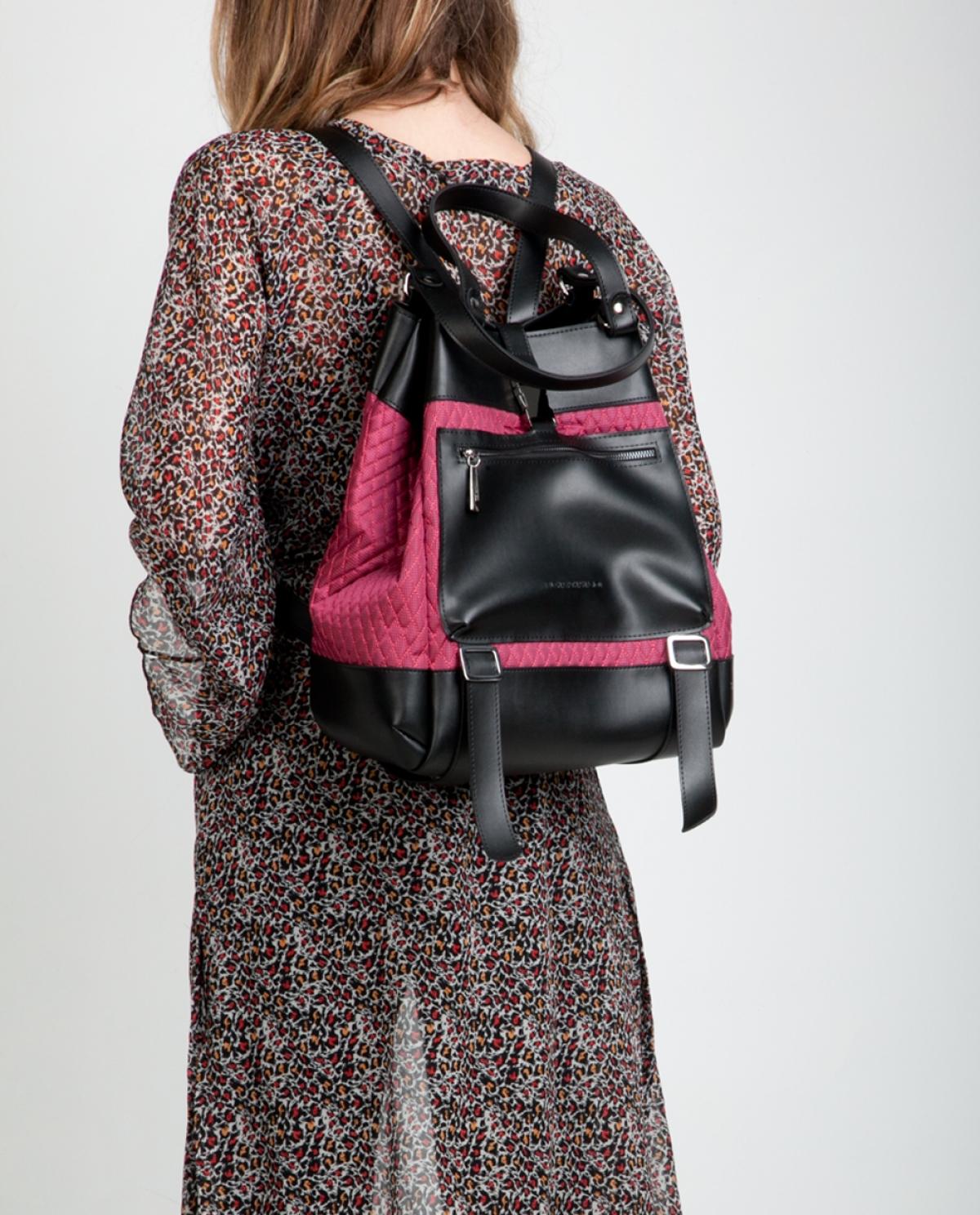 Rasberry Comfort Backpack