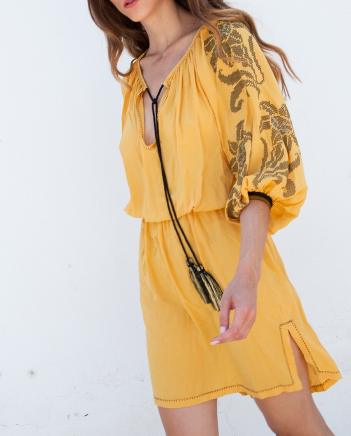 Rea Mini Kaftan-Dress