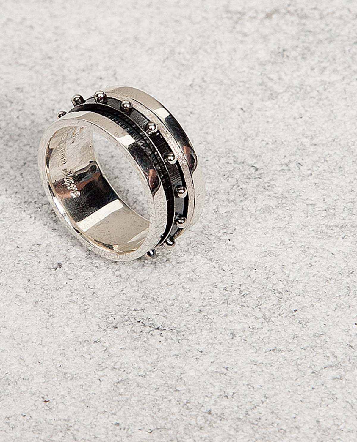 Roll Silver Ring