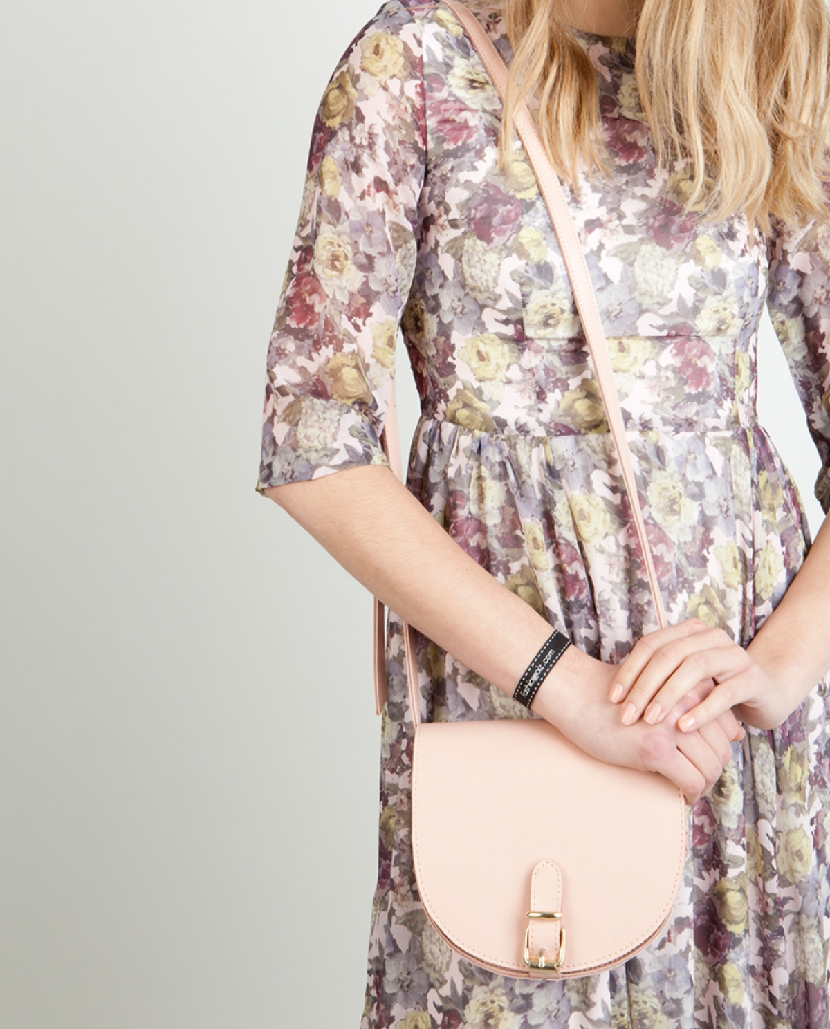 Rose Scott Moon Shoulder Bag