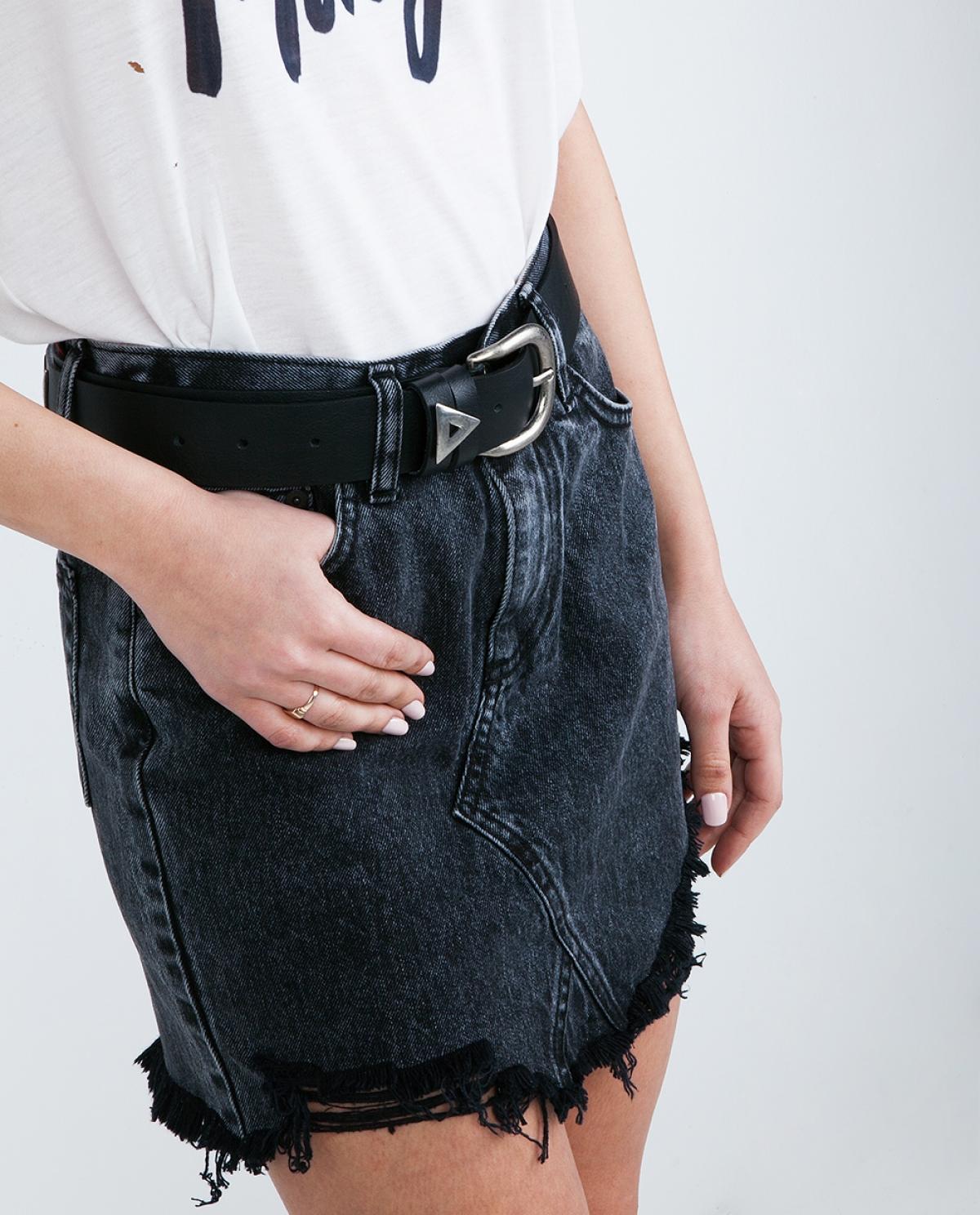Salt Leather Belt