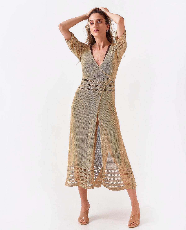 Sand Crouaze Dress