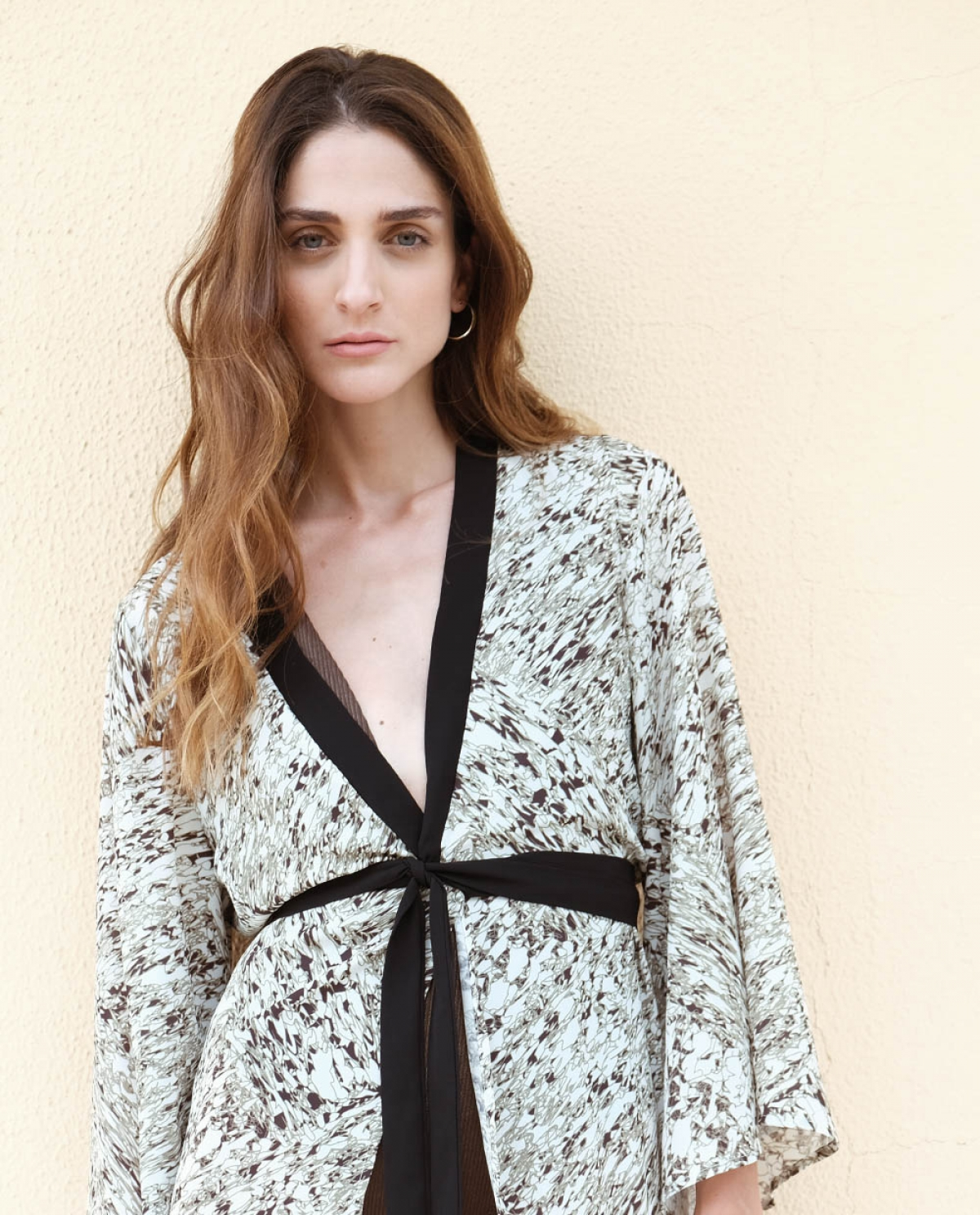 Savannah Green Maxi Kimono