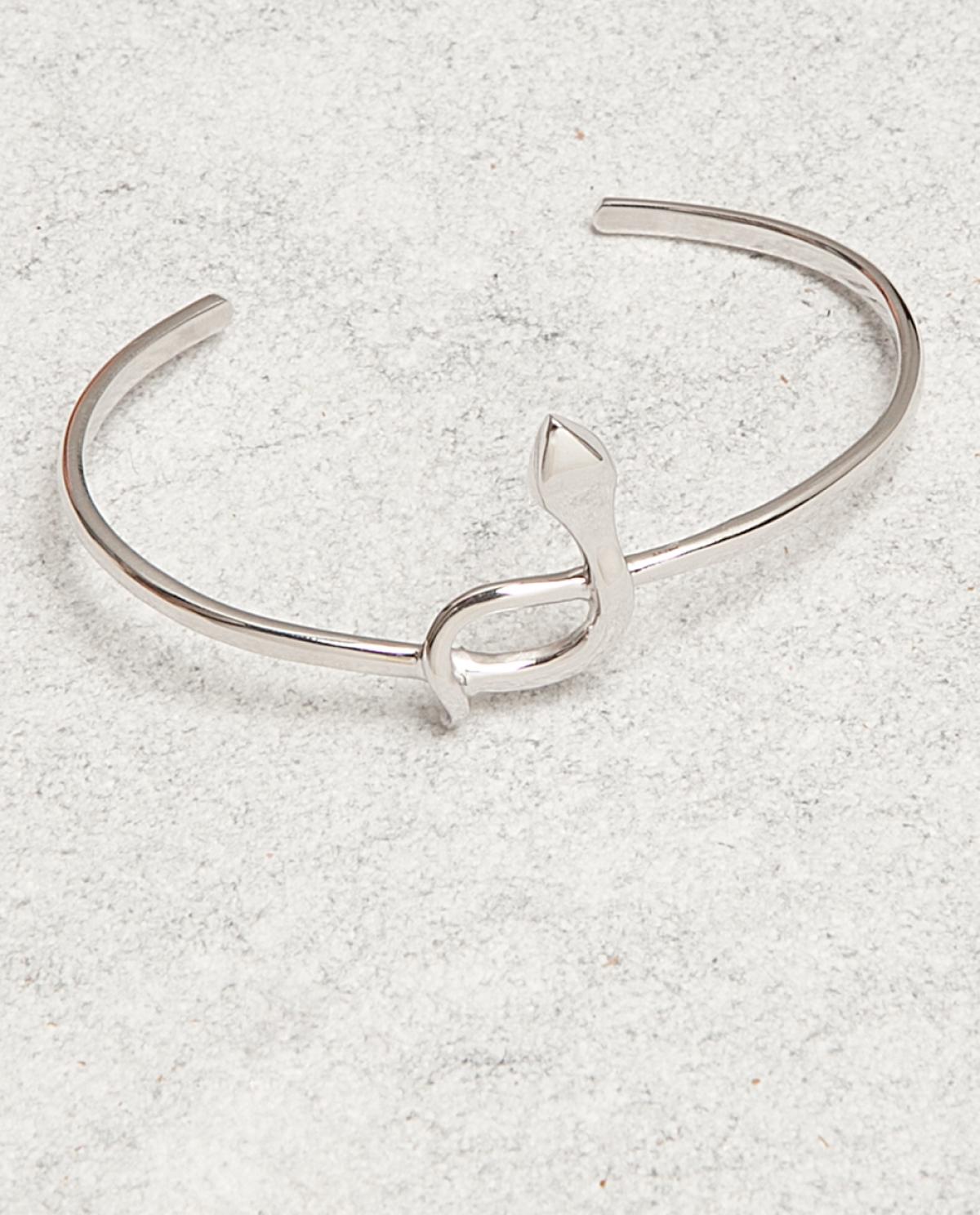 Serpent Silver Bracelet