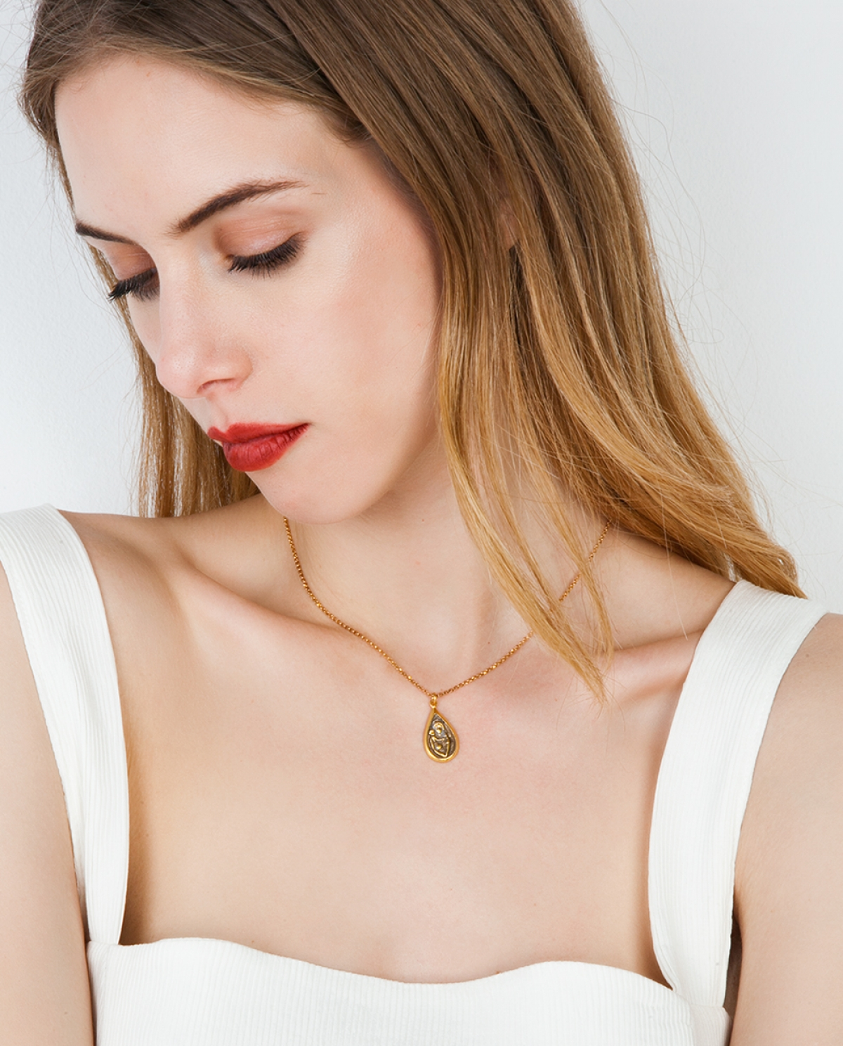 Silene Gold-plated Pendant