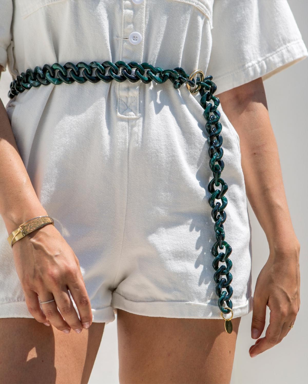 Square Emerald Chain