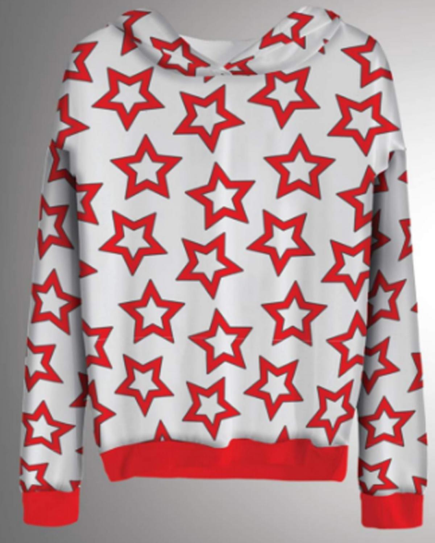 Starblizz Red Hoodie
