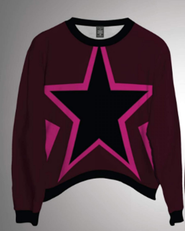 Starlet Deep Red Sweatshirt