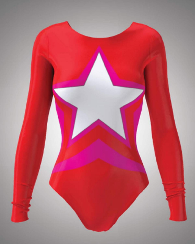 Starlet Red Bodysuit