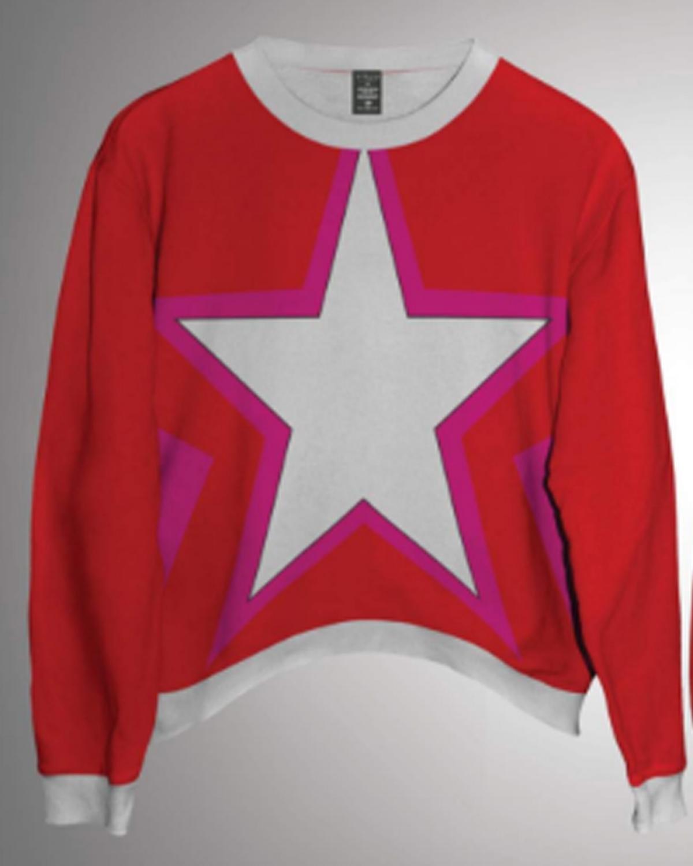 Starlet Red Sweatshirt