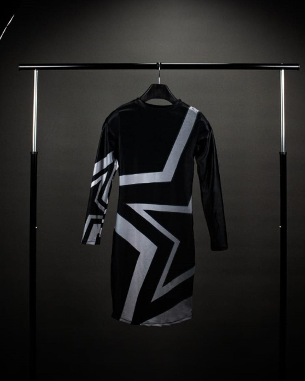 Starlet Silver Mini Dress