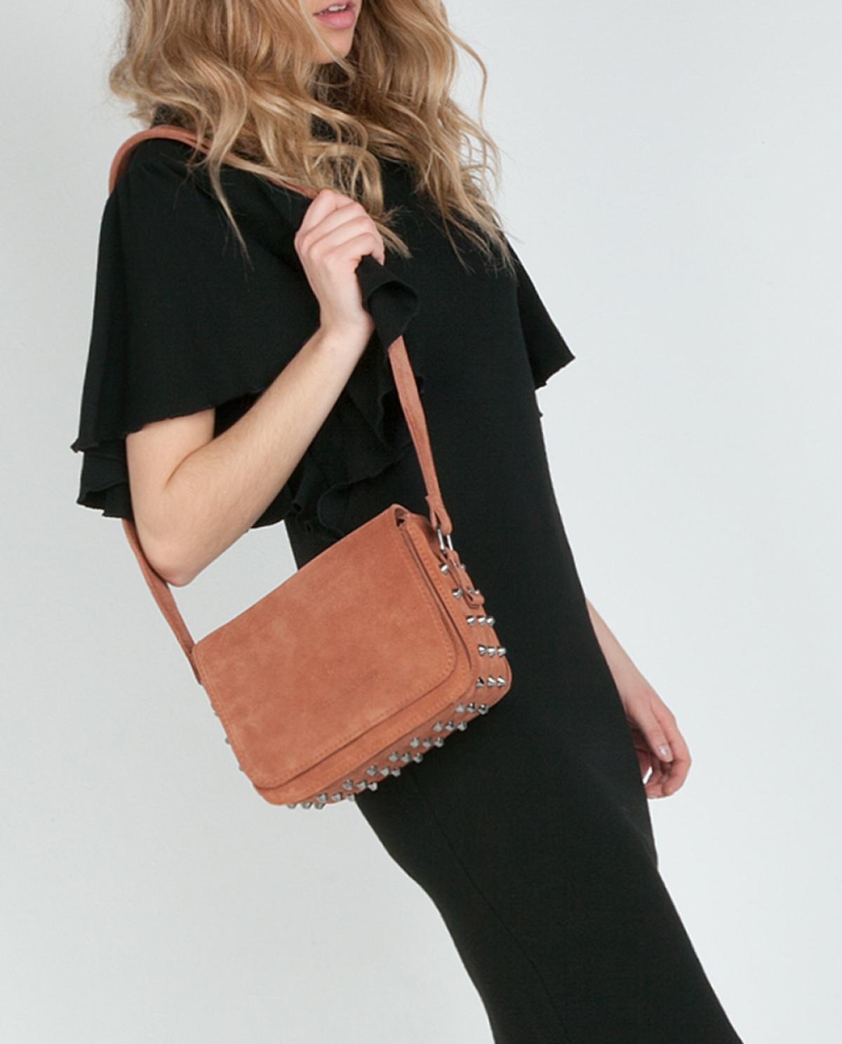 Suede Blink City Bag