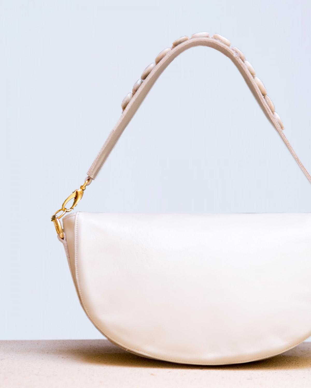 The White Shell Bag