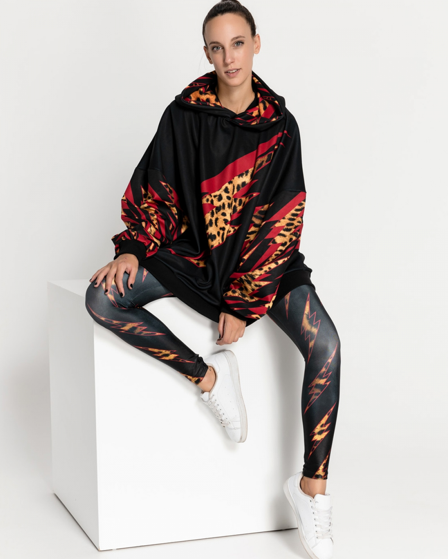 Thunders Leopard Strike Sweatshirt