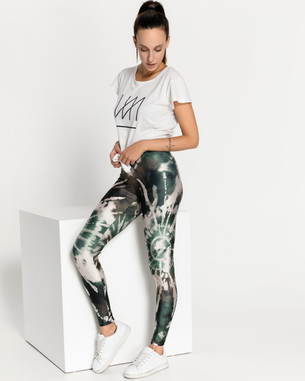 TieDie Forest Leggings