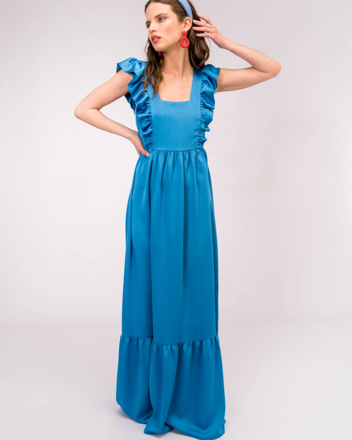 Tinda Blue Dress