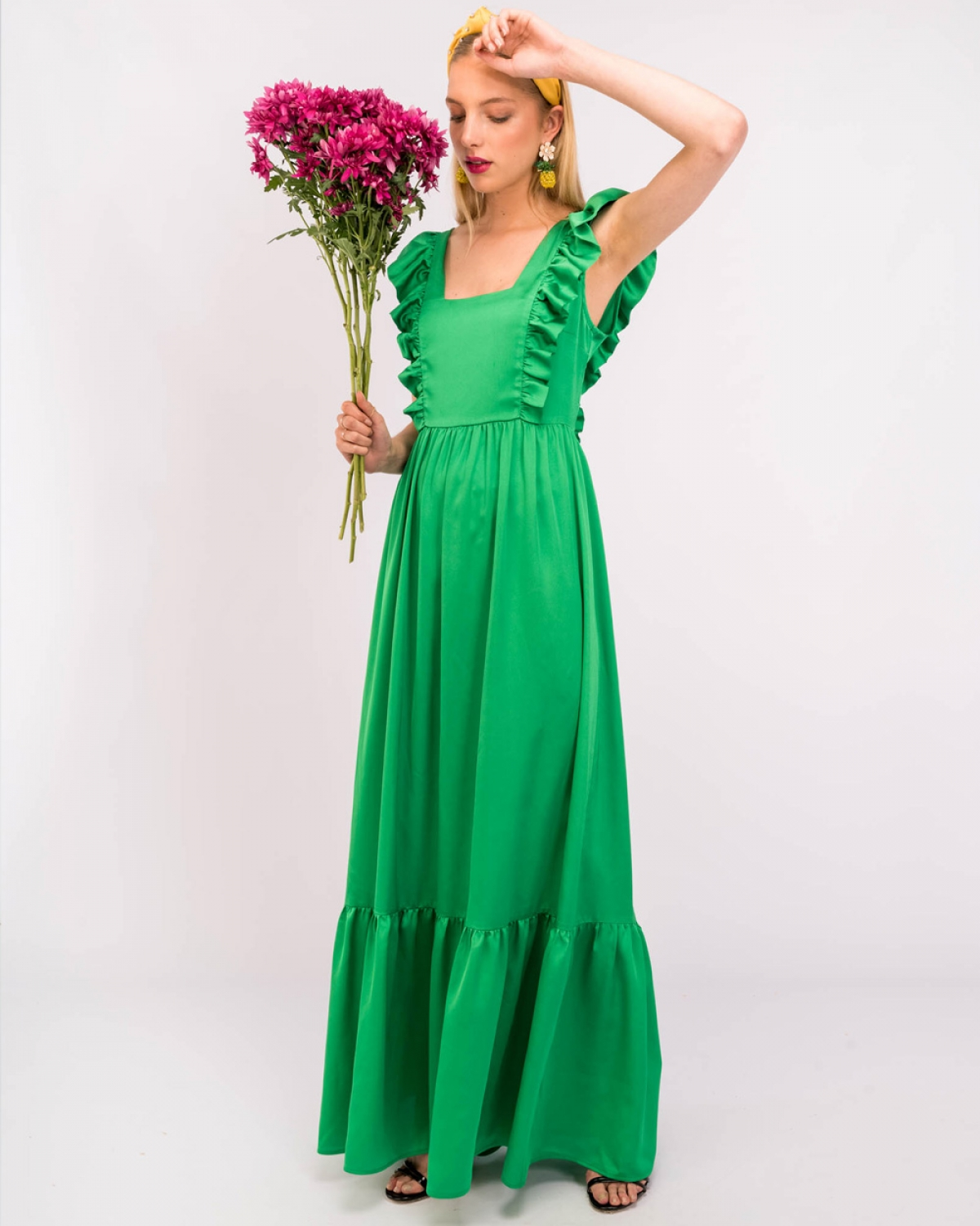 Tinda Green Dress