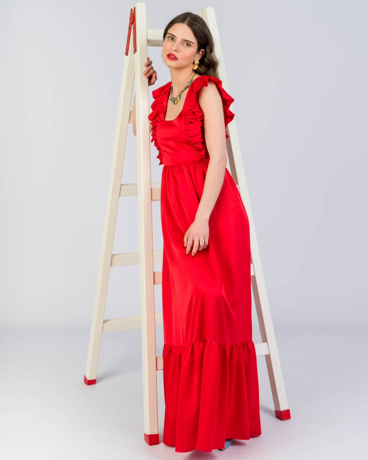Tinda Red Dress