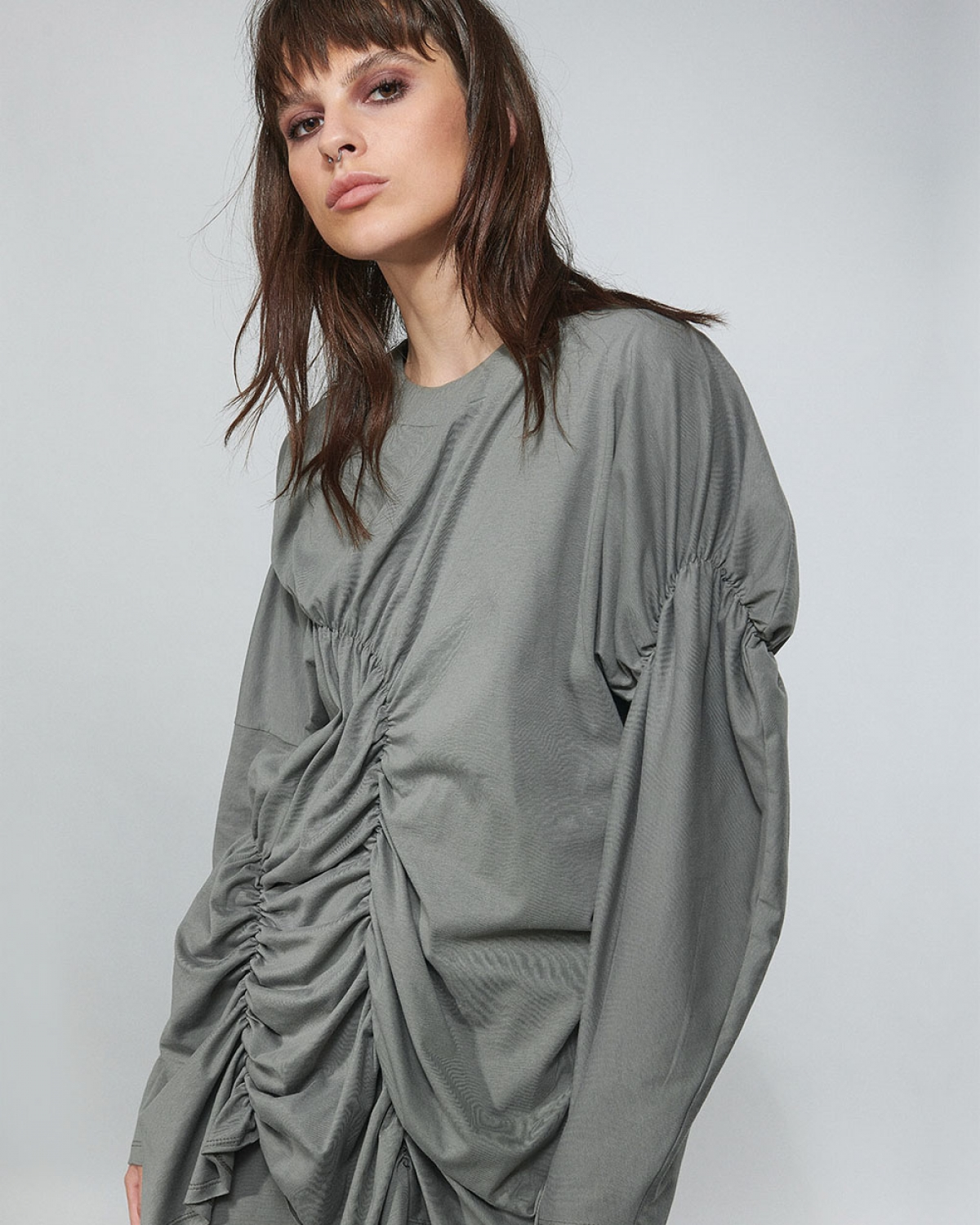 Top With Elasticated Gathering