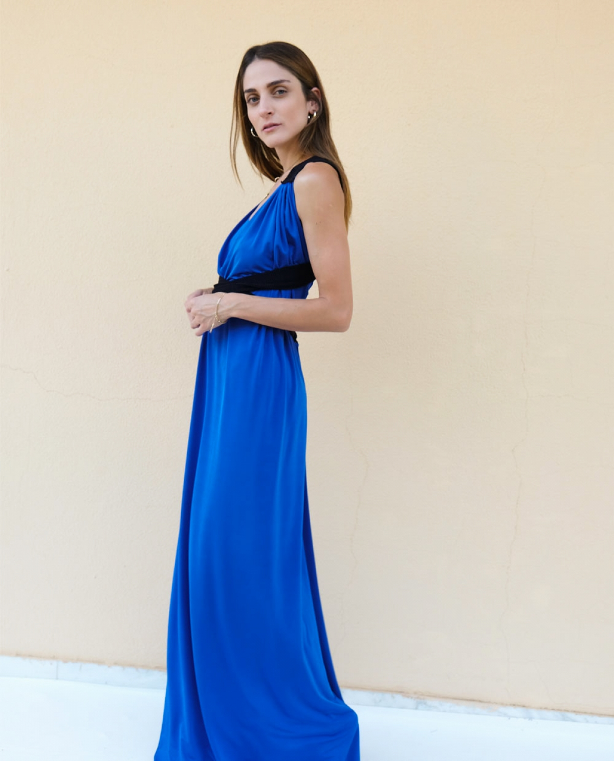 Topsun Blue Maxi Dress