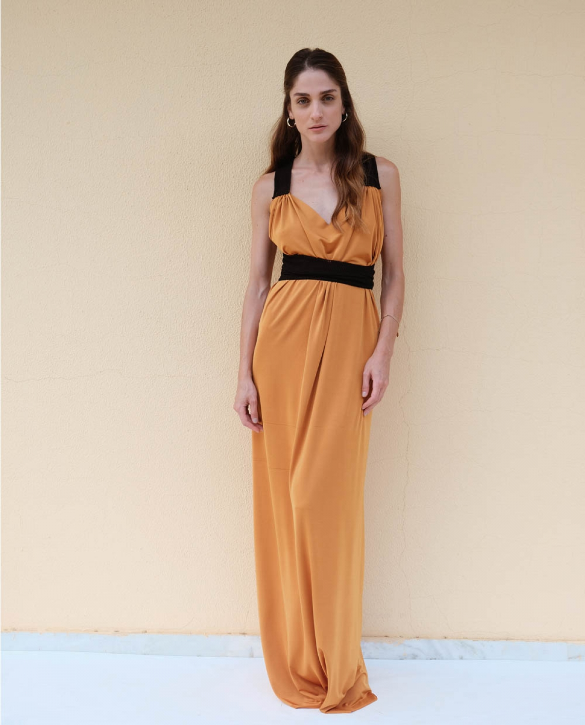 Topsun Bronze Maxi Dress