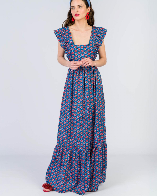 Verona Printed Dress