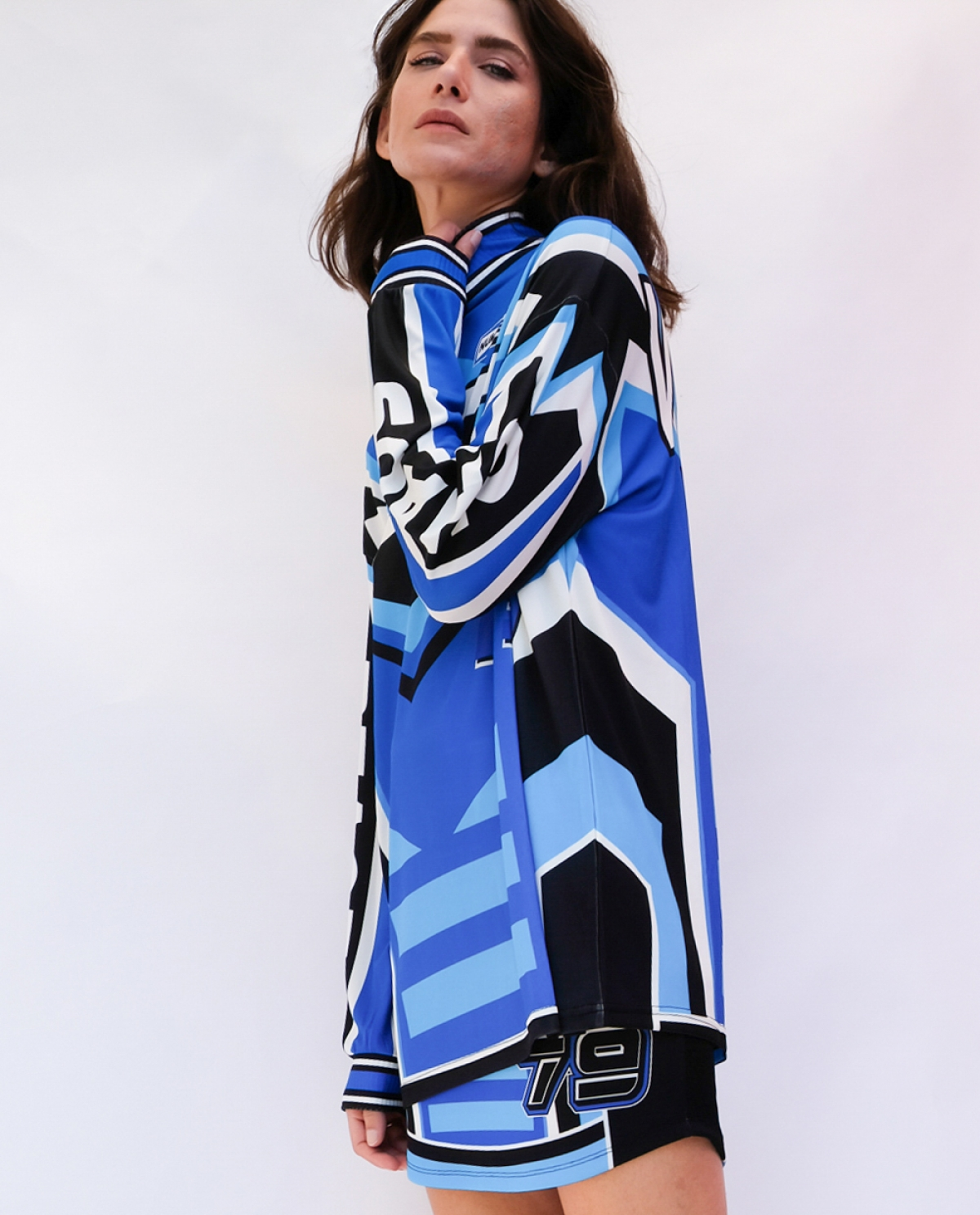 Victory Racer Long Blouse
