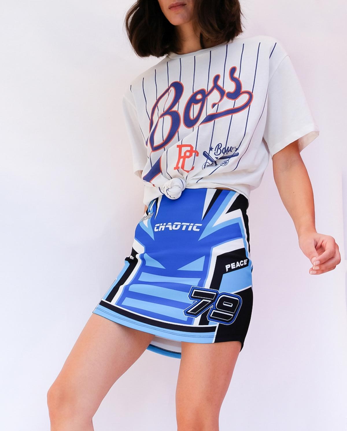 Victory Racer Mini Skirt