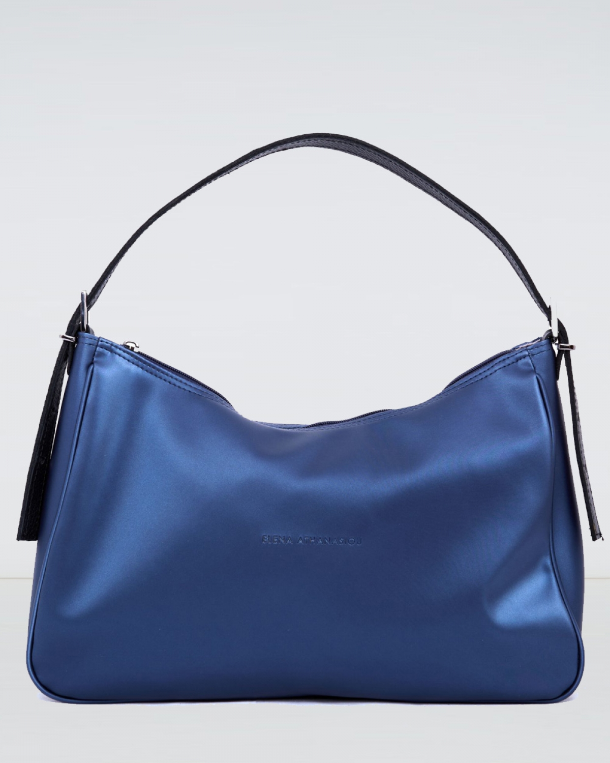 Vintage Baguette Metallic Blue XL Bag