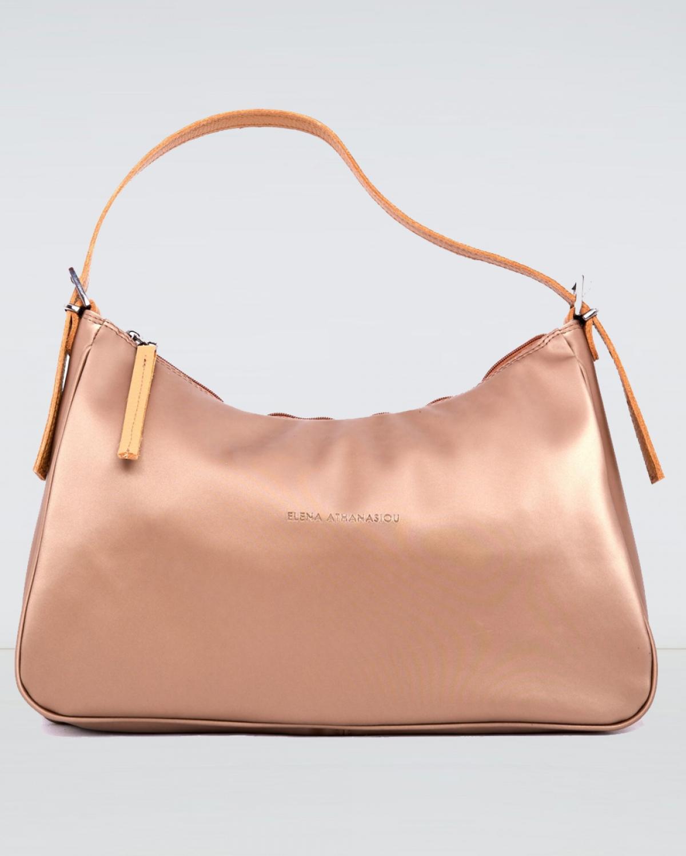 Vintage Baguette Shiny Gold XL Bag