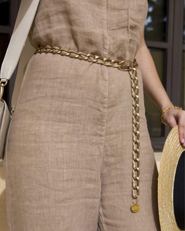 Vintage Gold-tone Belt