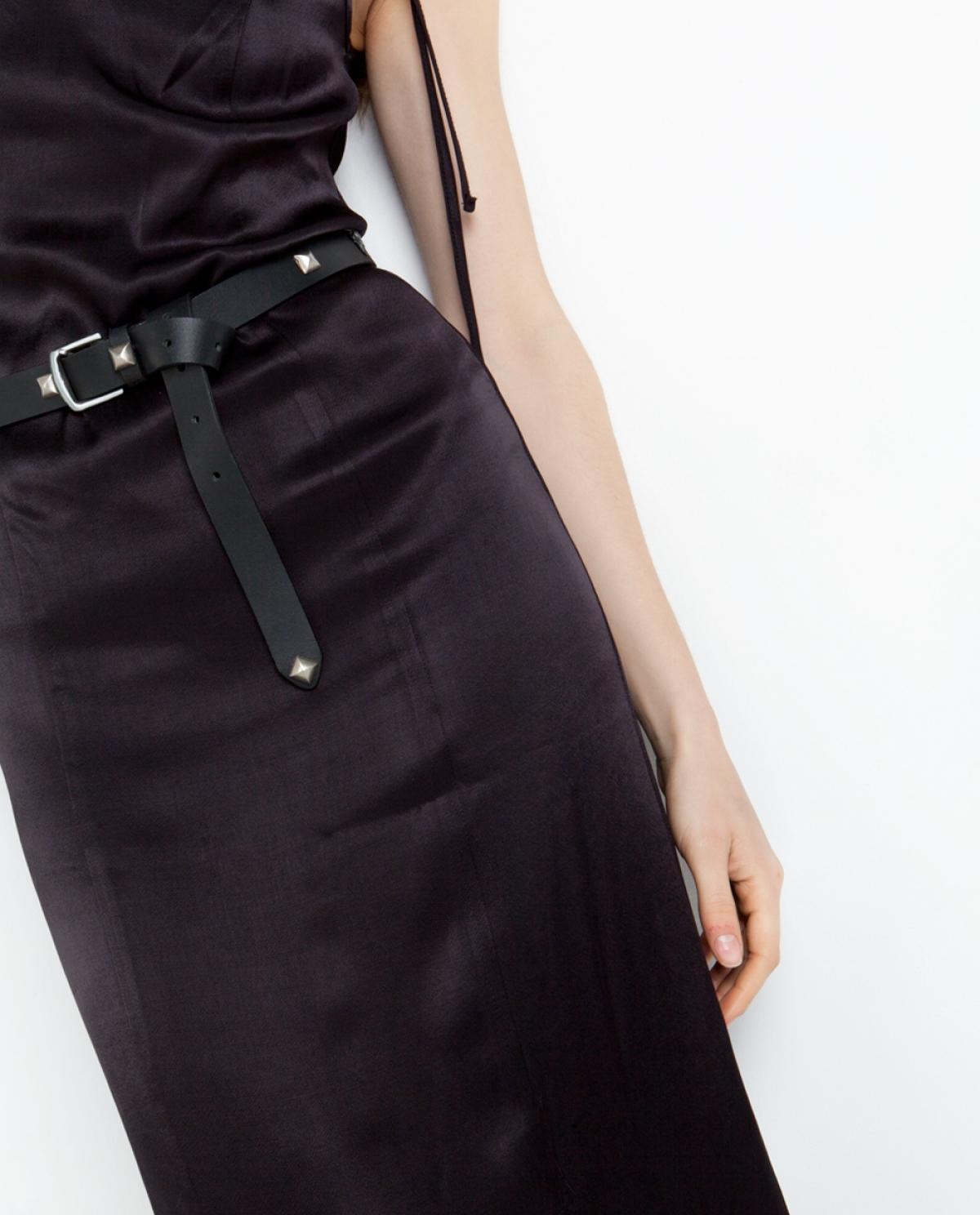 Wild Studded Leather Belt