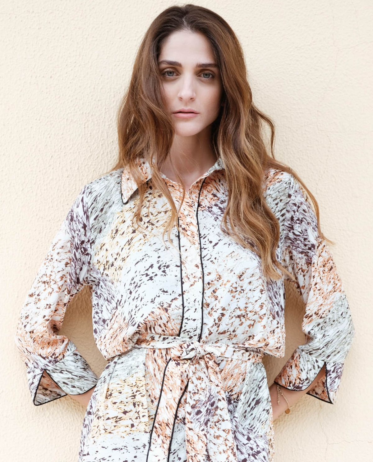 Wild Savanna Mini Shirt Dress