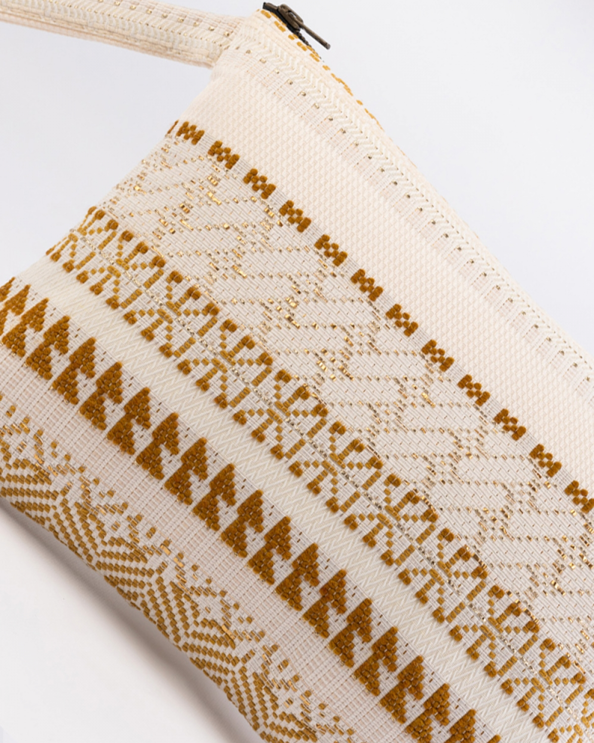 Woven Craft Medium Clutch