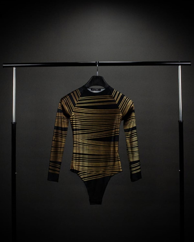 Yarn Gold Bodysuit