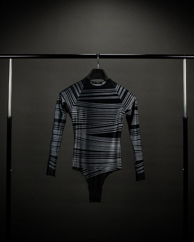 Yarn Silver Bodysuit